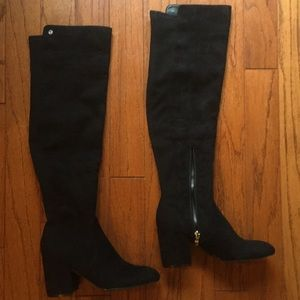 NEW Marc Fisher Over the Knee Black Boots